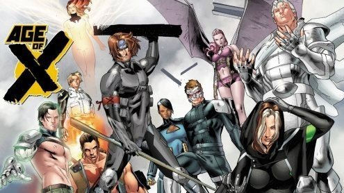 Age of X cast home