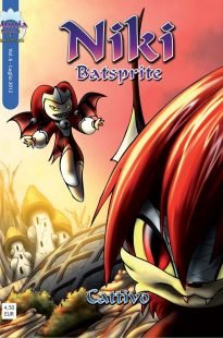 niki batsprite fumetto vol6 cover 205x310