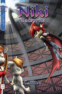 niki batsprite fumetto vol6 cover alternativa 205x310