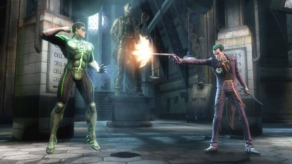 Injustice Gods Among Us Joker Green Lantern