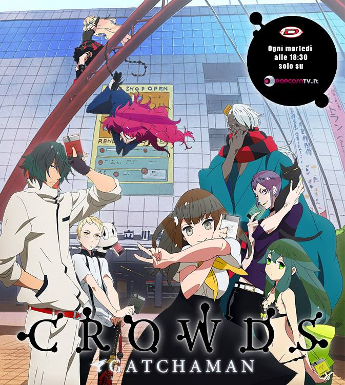 GATCHAMAN CROWDS POPCORN TV