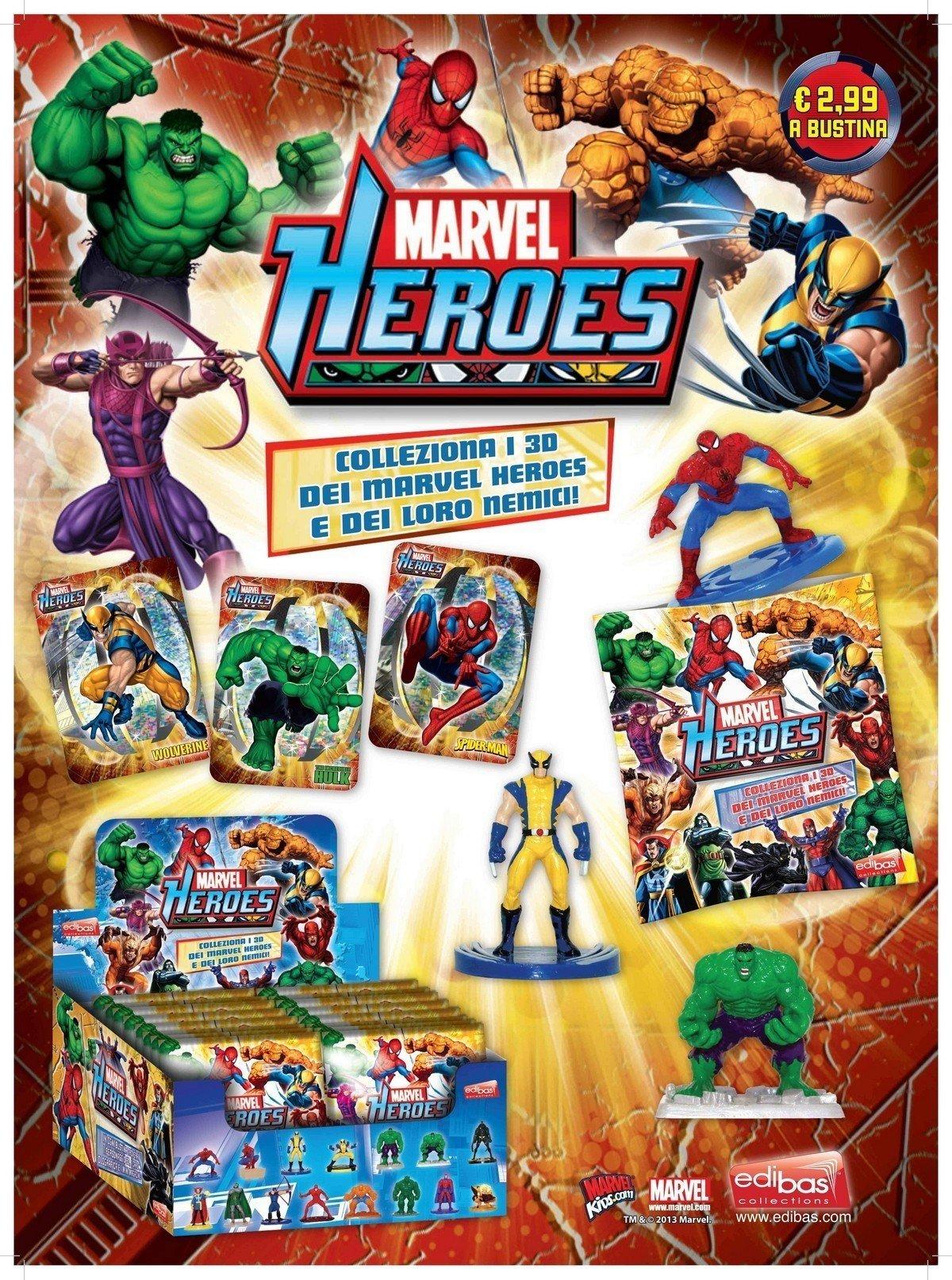 marvel heroes edibas