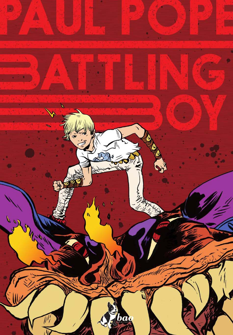 Battling Boy 1 COVER