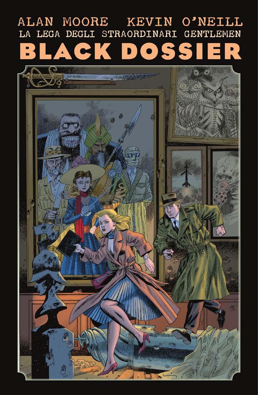 La Lega degli Straordinari Gentlemen – Black Dossier cover