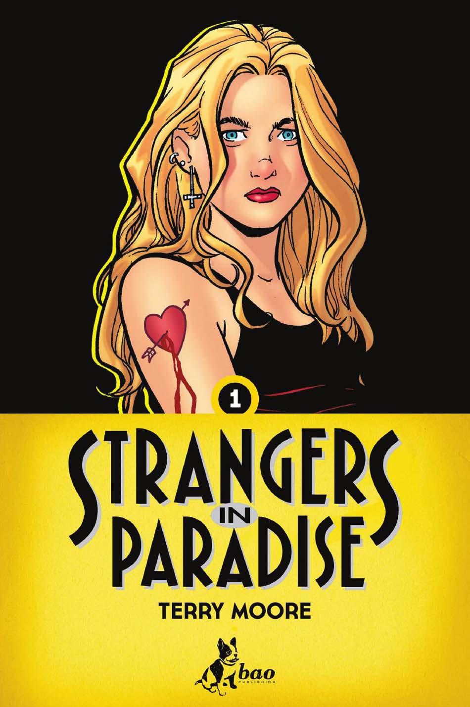 Strangers in Paradise_1_cover volume 1