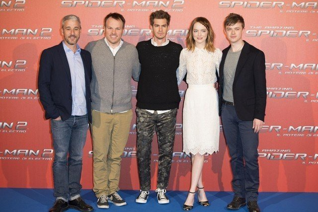 Photocall del film 'The amazing spider man 2'