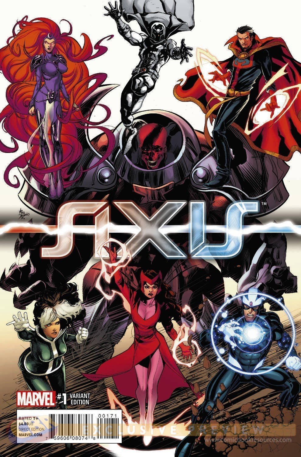 AVENGERS-AND-X-MEN-AXIS-1-OF-9-YOUNG-GUNS-COMPLETE-VAR-R-97363