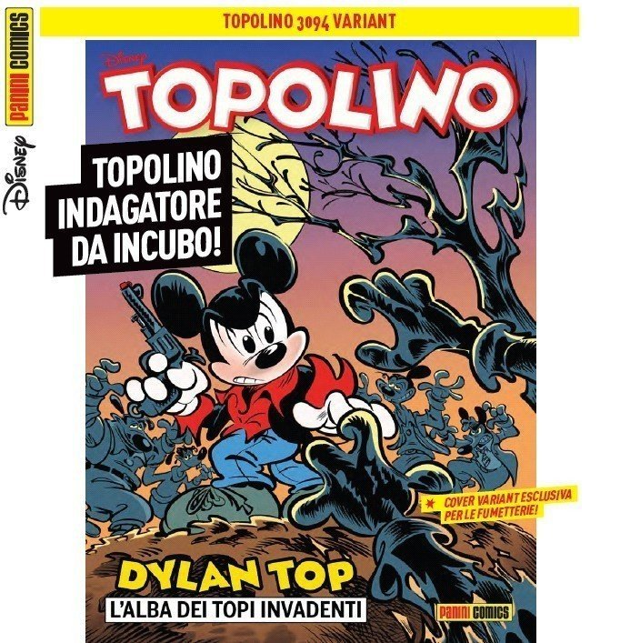 Dylan Top cover variant Topolino