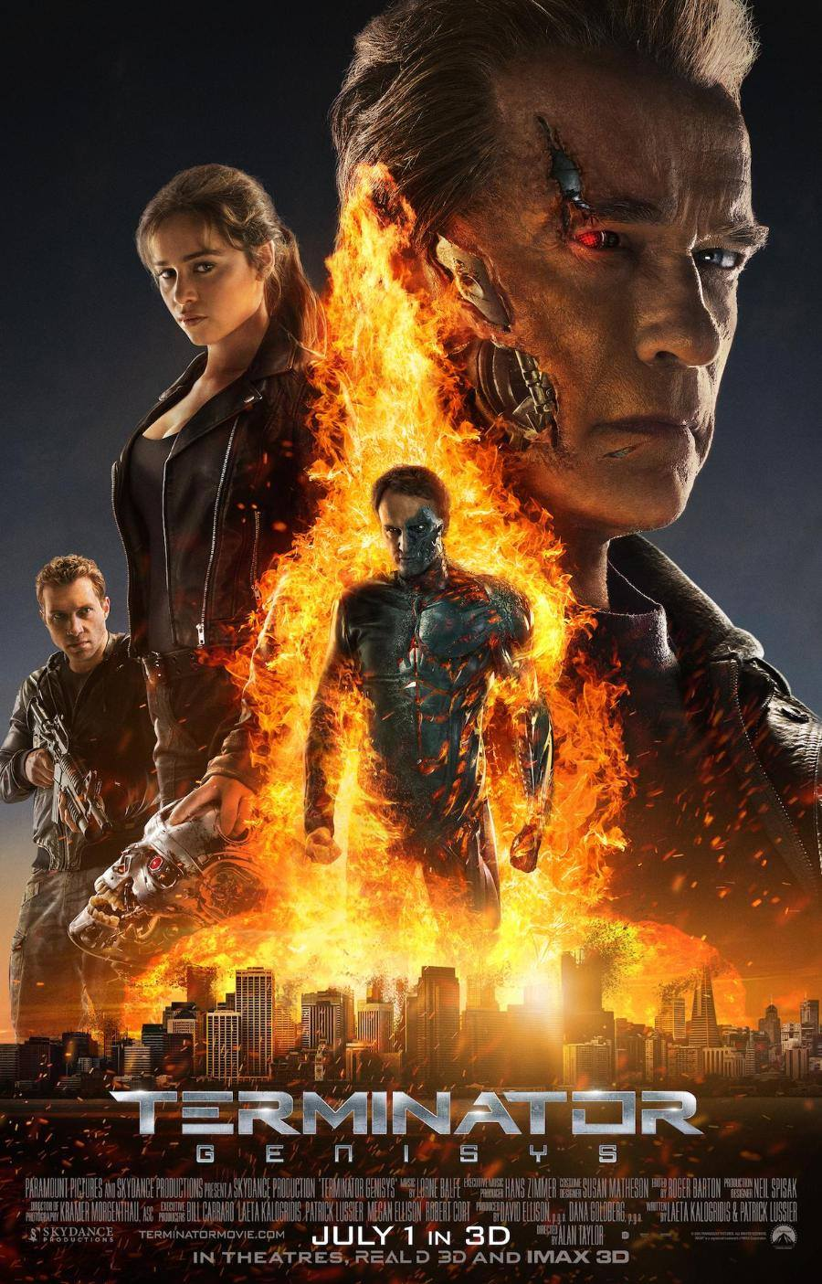 Terminator Genisys: il nuovo poster | MangaForever.net