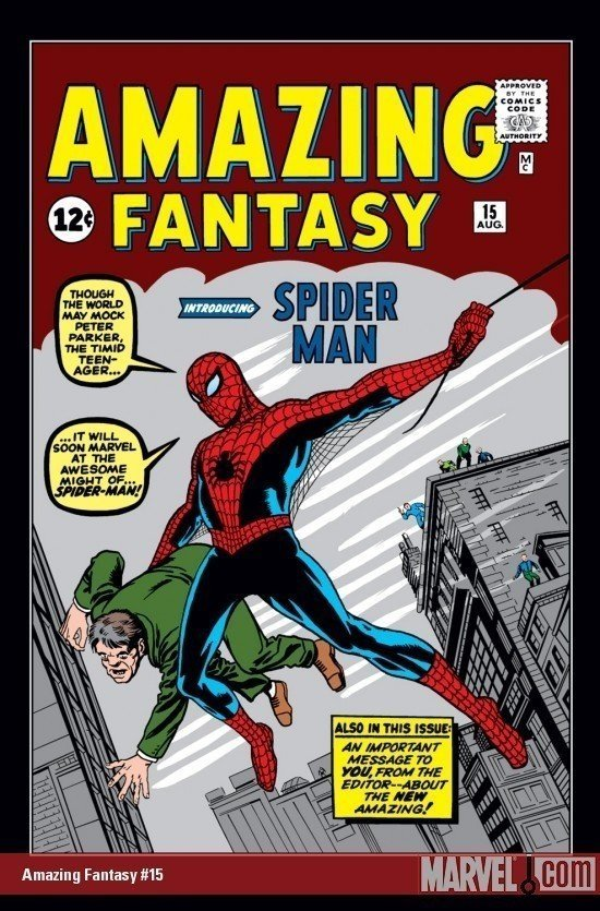 Amazing Fantasy n. 15