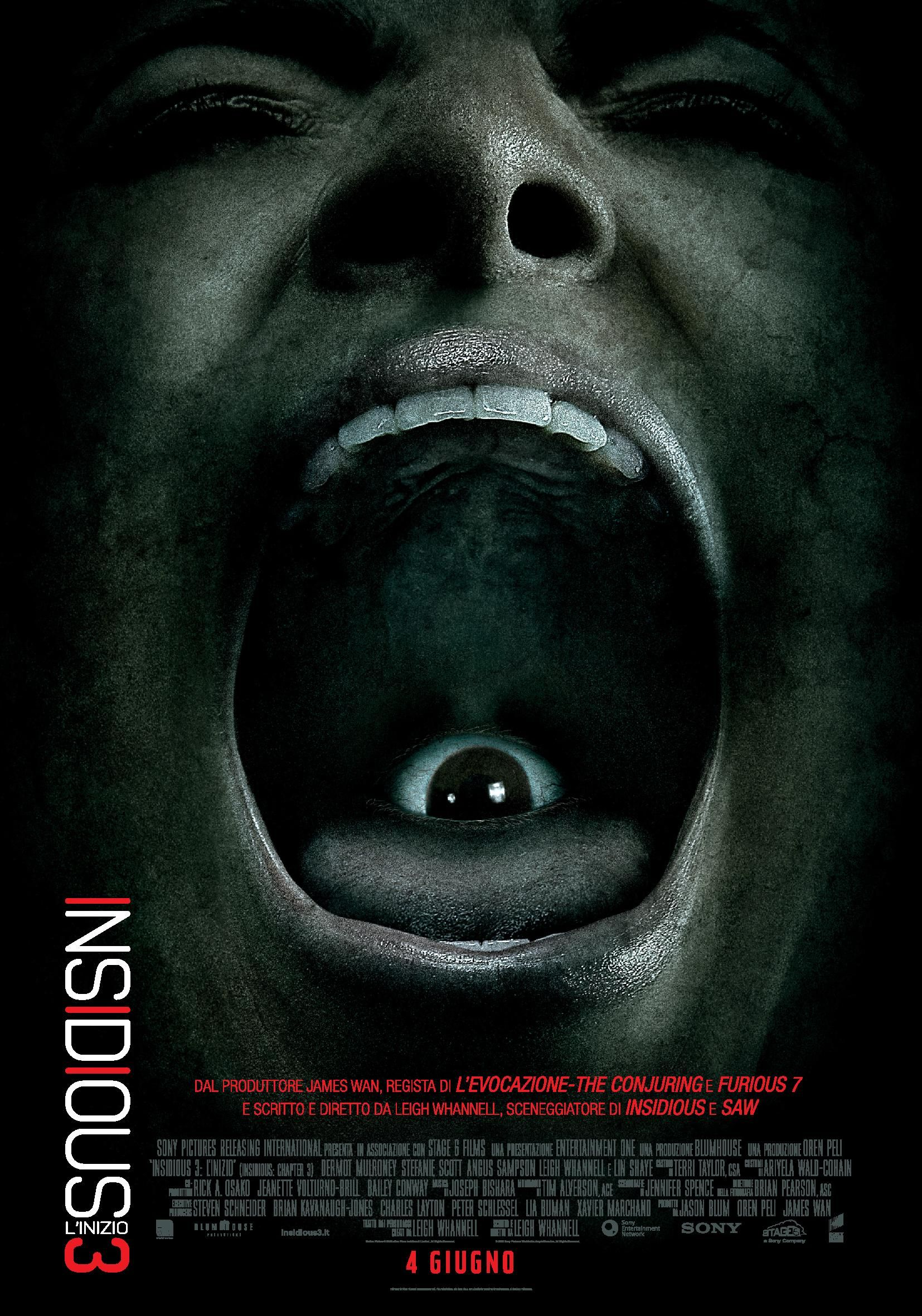 Insidious 3 Teaser Poster 1 Pictures to pin on Pinterest