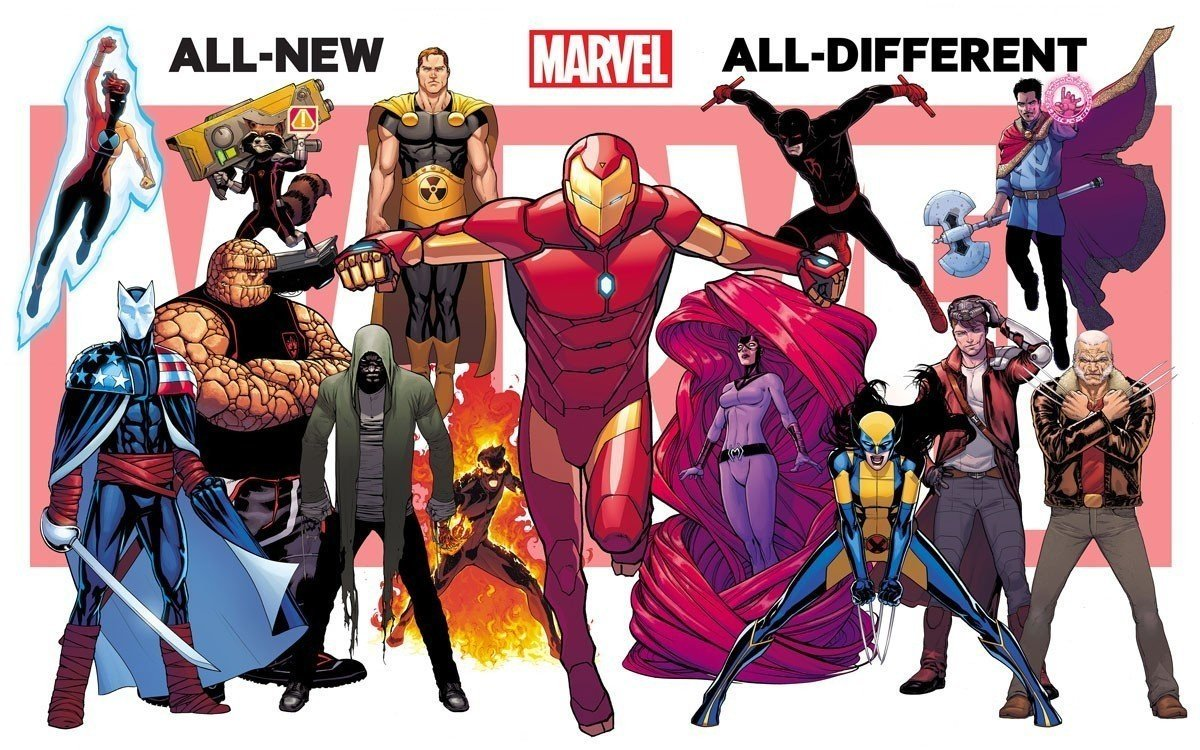 all new all different marvel c