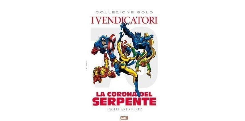 Avengers Serie Oro 9