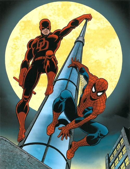 Dareveil-and-Spider-Man-by-John-Romita-Sr
