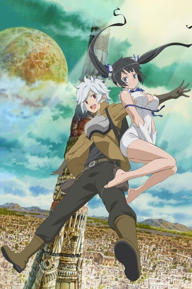 danmachi anime visual