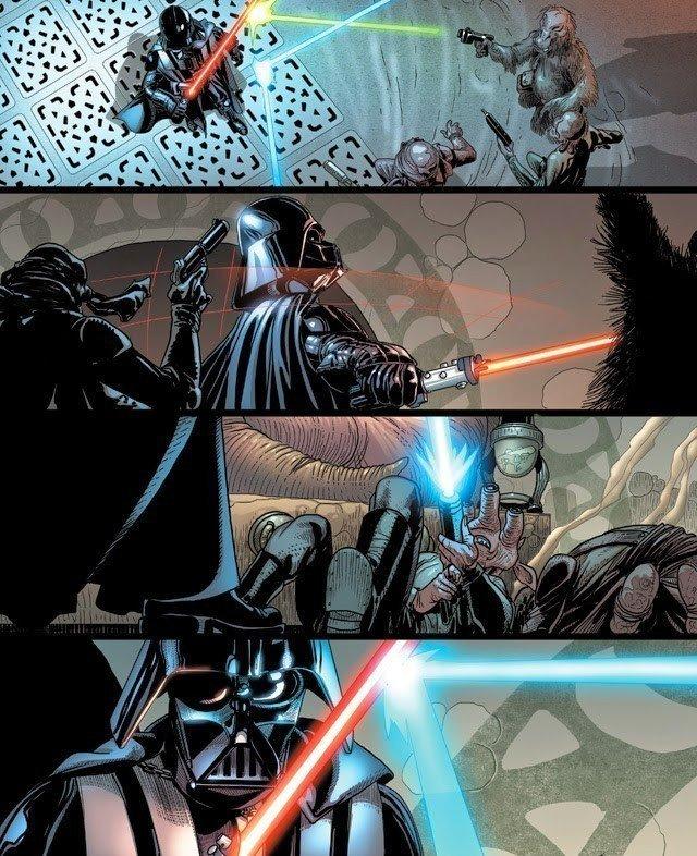 marvel-darth-vader-comic-issue-1-jabbas-palace-battle