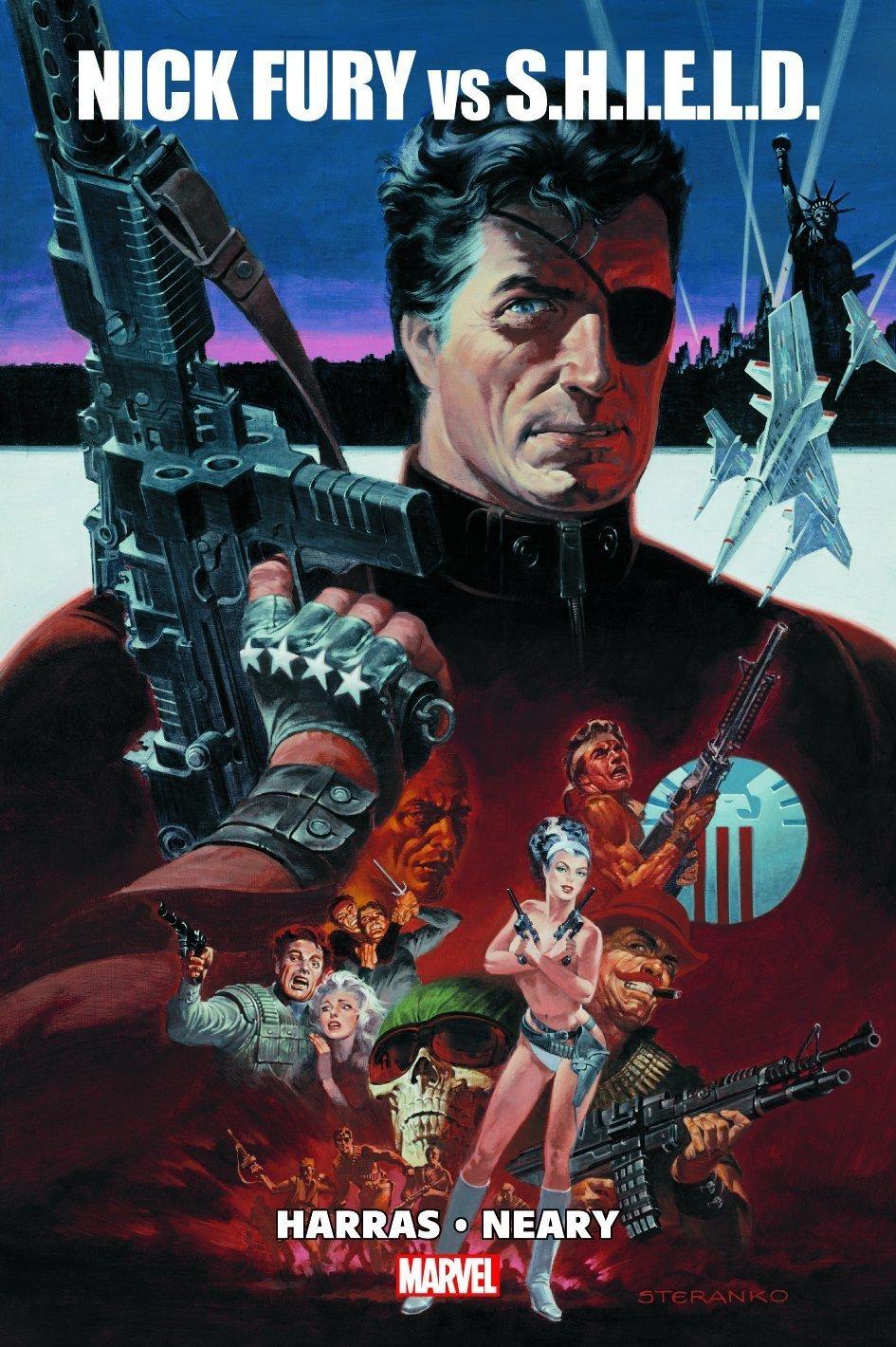 Nick Fury vs. Shield