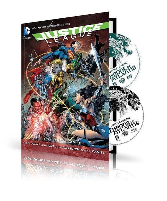 Justice League: Throne of Atlantis Combo Pack DVD/Graphic novel