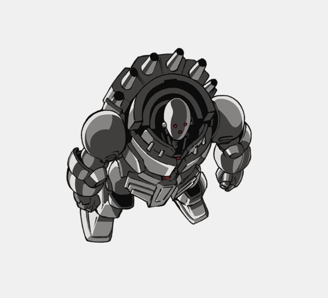 one punch man metal knight