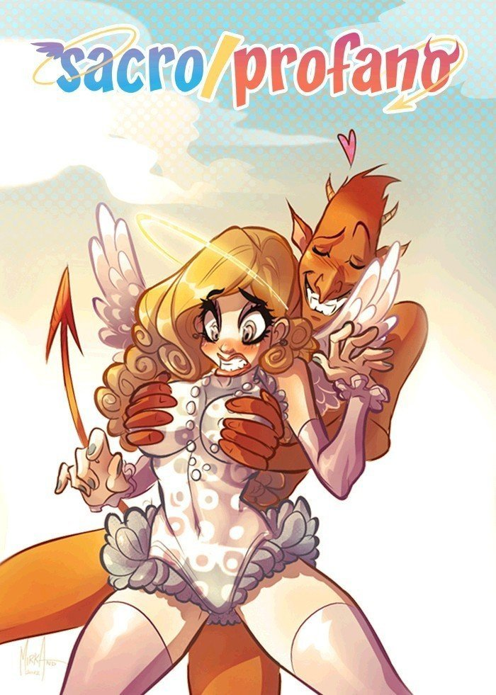 sacro-profano-angelo-e-diavolo-cartoon-fumetto-digitale-sexy-art