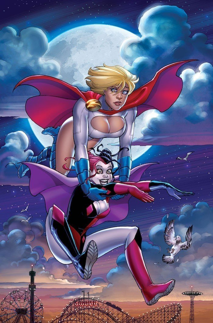 012_Harley Quinn Power Girl