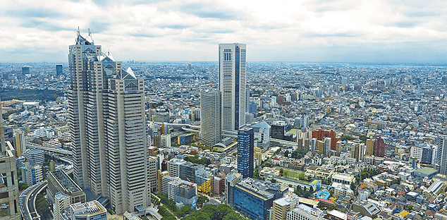 Grattacieli Tokyo