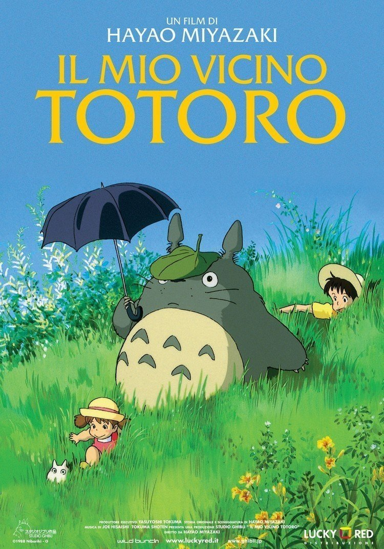 totoro lucky red