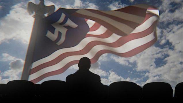 Flag USA Nazi