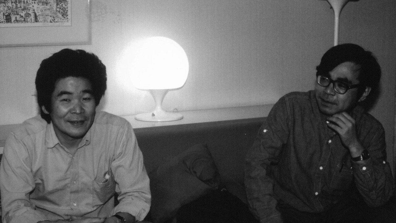 I giovani Isao Takahata e Hayao Miyazaki