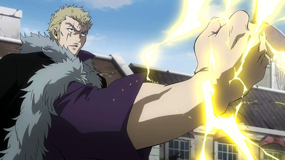 fairy tail laxus