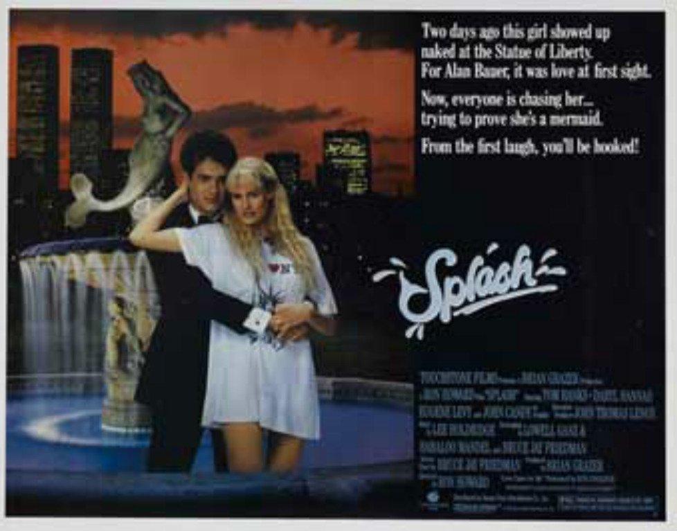 lodandina del film Splash - una sirena a Manhatthan