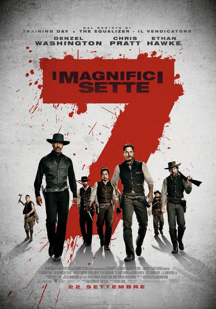 I Magnifici Sette poster
