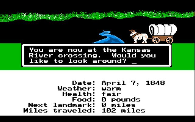 best-video-games-the-oregon-trail