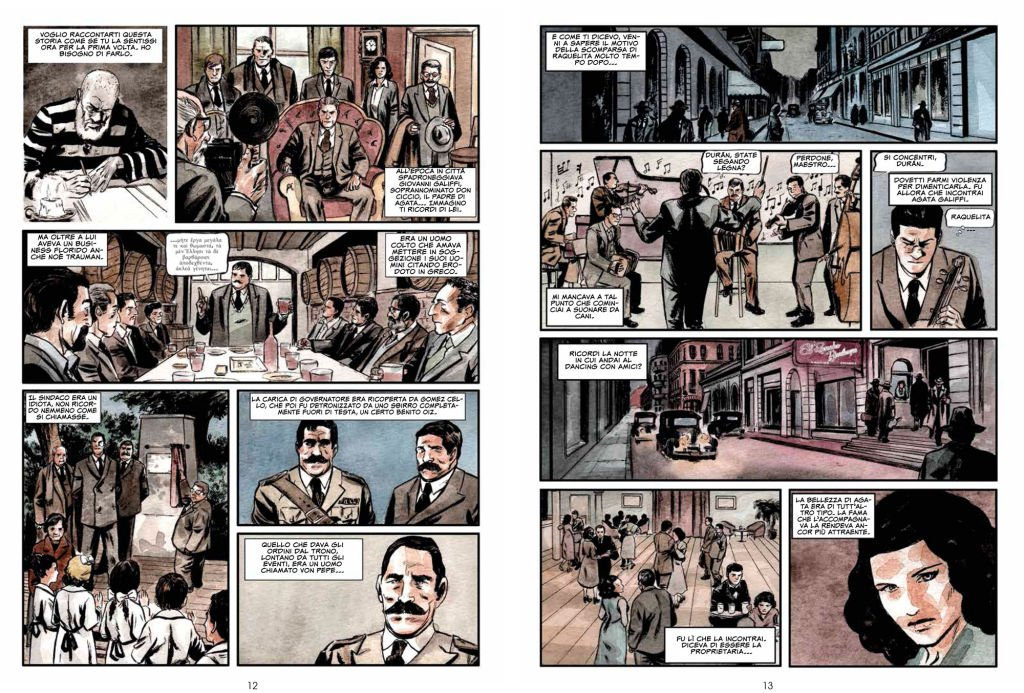 Una doppia pagina di Rosario