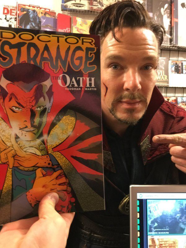 In Honor of the New Dr. Strange Trailer | File 770