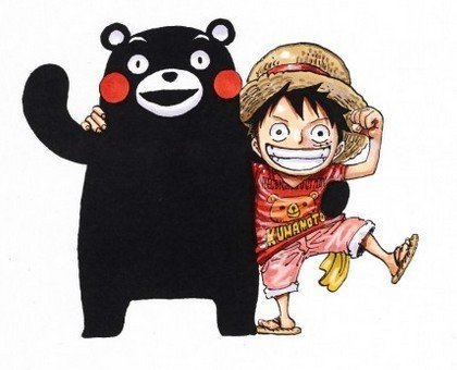 one piece kumamon
