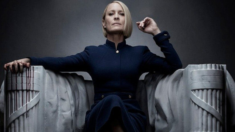 House of cards 6 il trailer finale for Carta parati anni 70