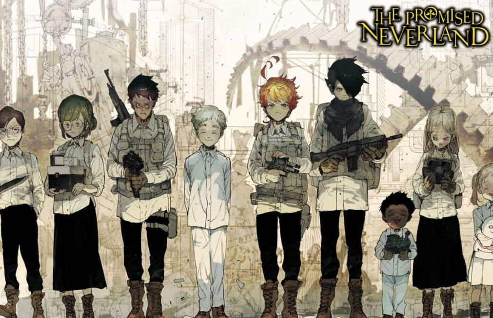 12 The Promised Neverland Vol