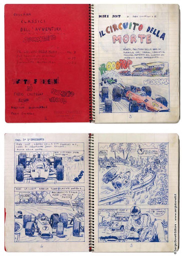 Artbook Civitelli, Mangaforever