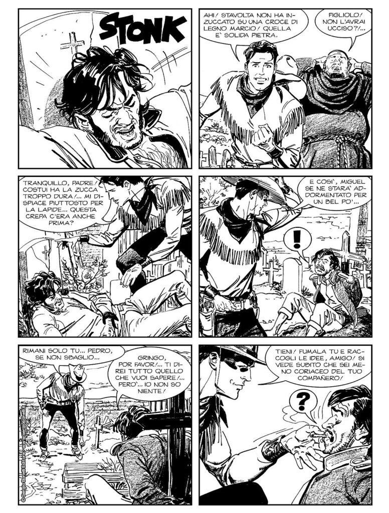 Tex Willer 5, Mangaforever