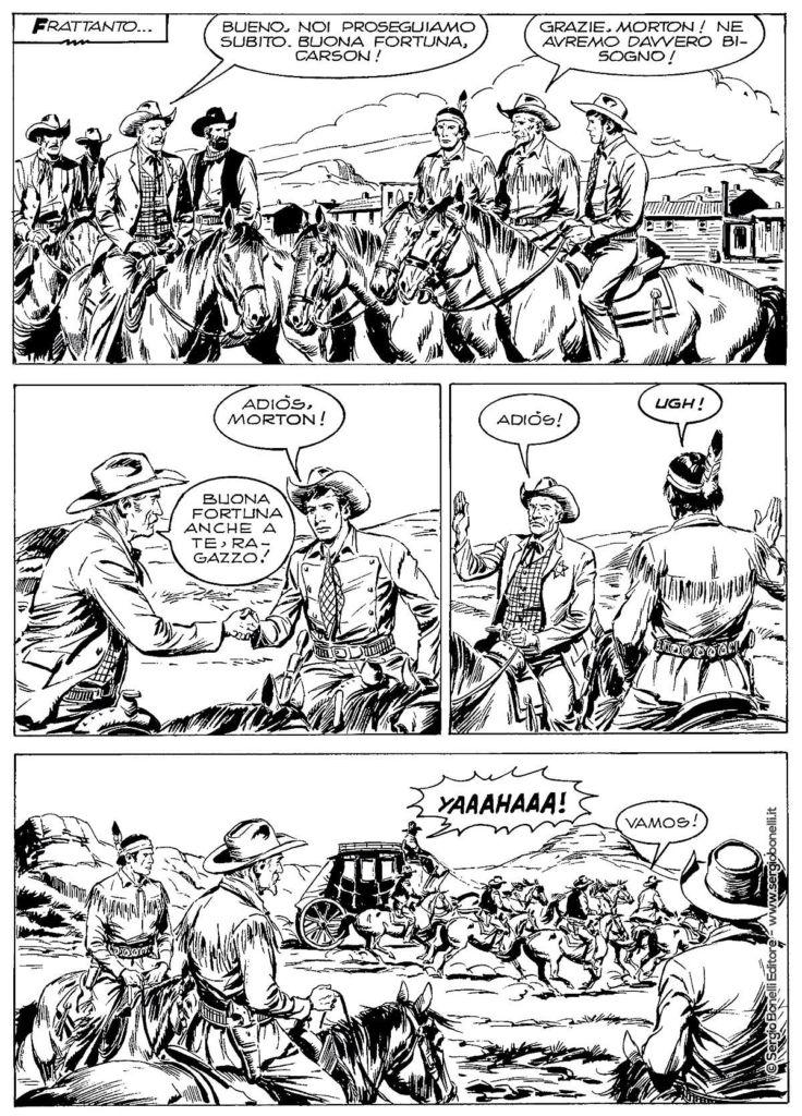 Tex La Cella della Morte, Mangaforever