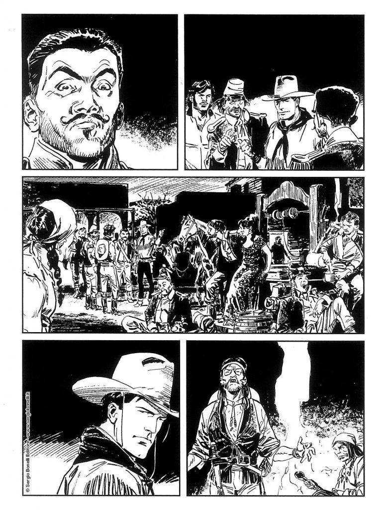 Tex Willer, Mangaforever