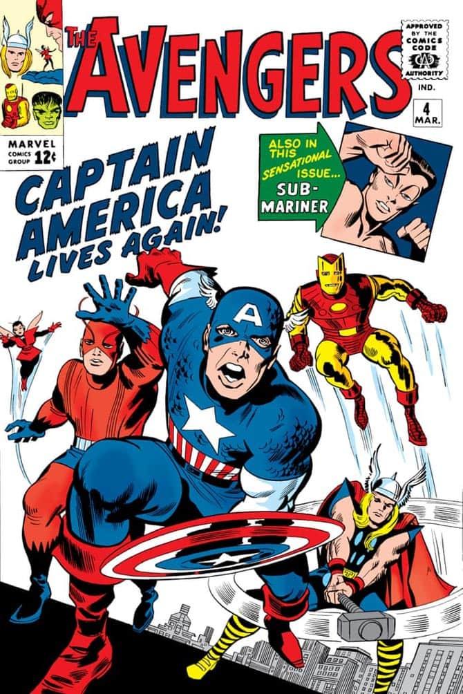 Capitan America si unisce ai Vendicatori