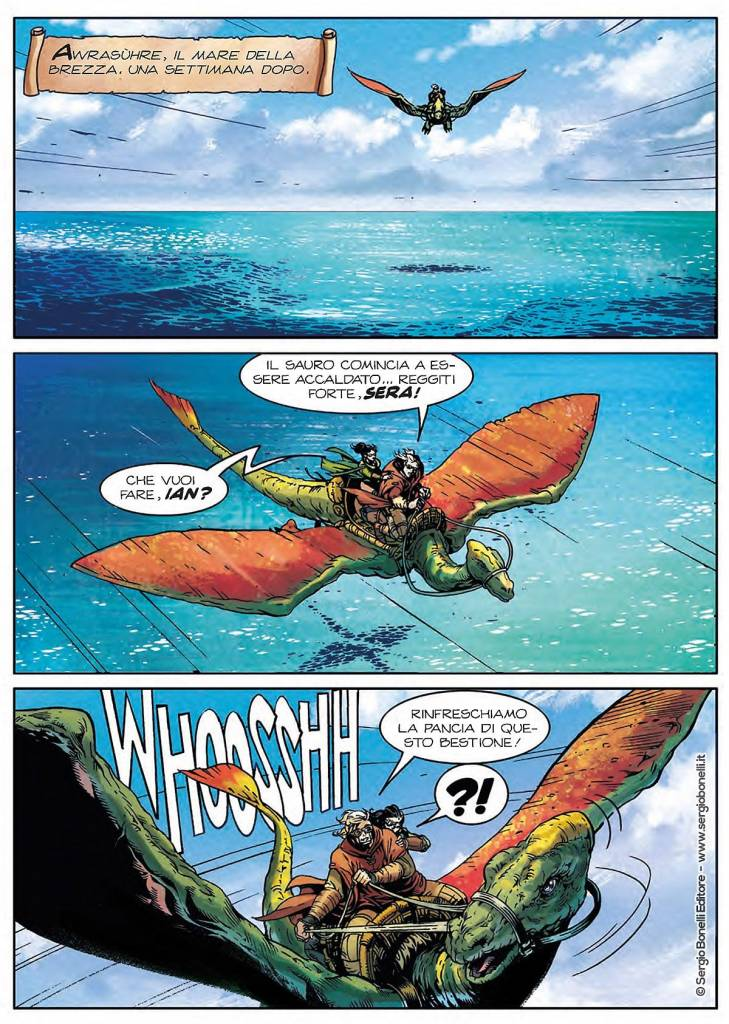 Dragonero. Cacciatori di Kraken
