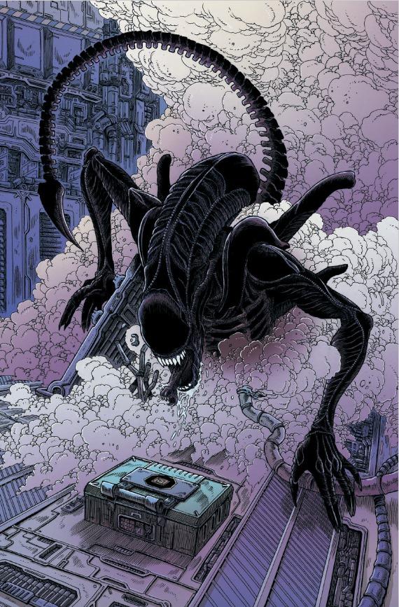 Aliens Orbita Mortale di James Stokoe   Recensione