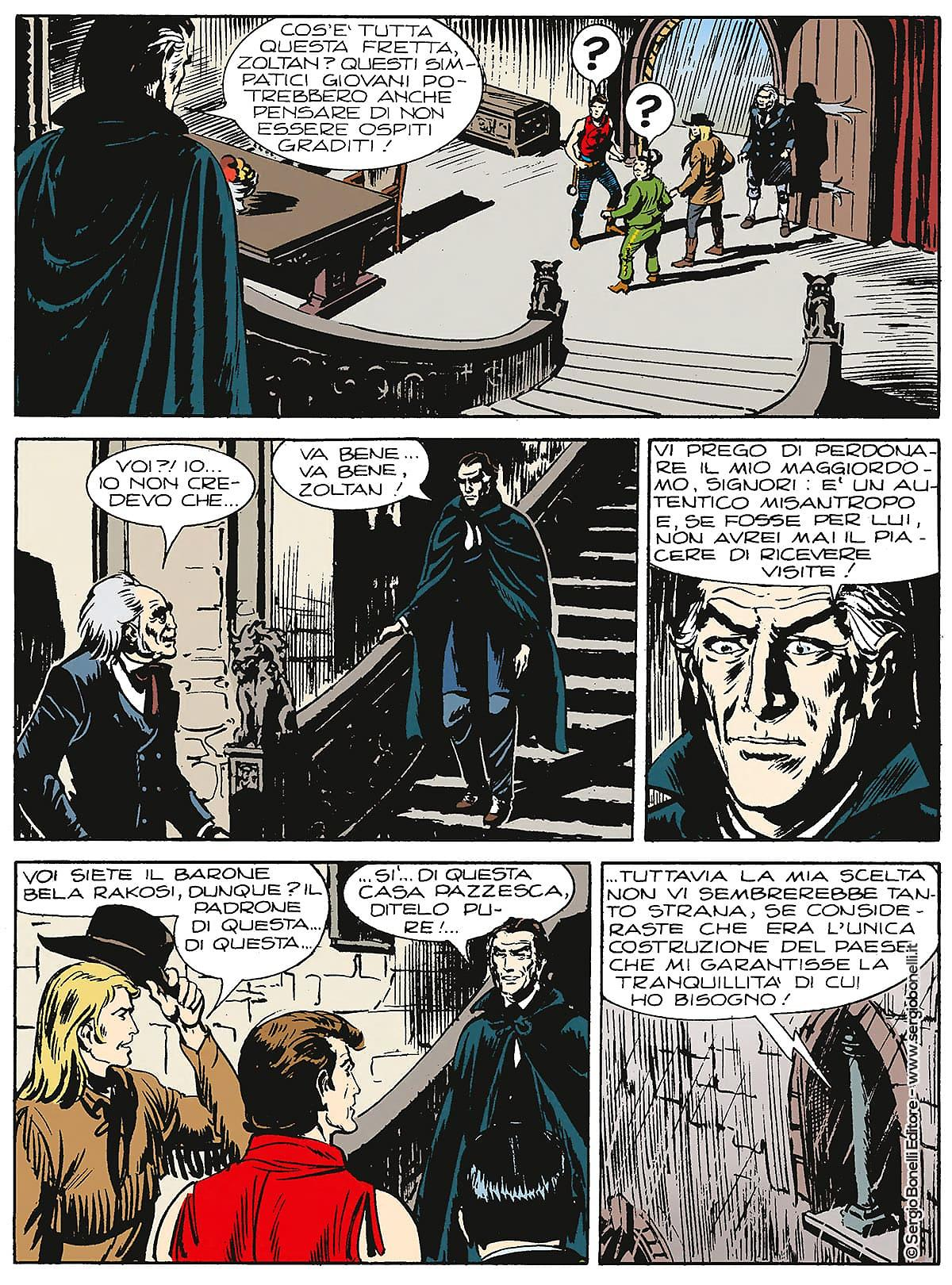 Zagor - Il Vampiro - tavola 2
