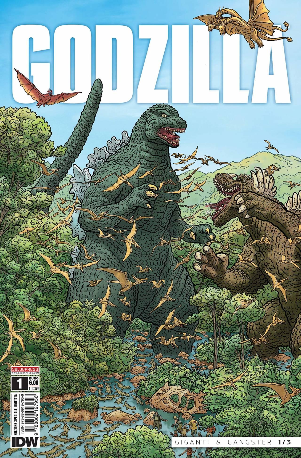 Godzilla 1 - copertina variant