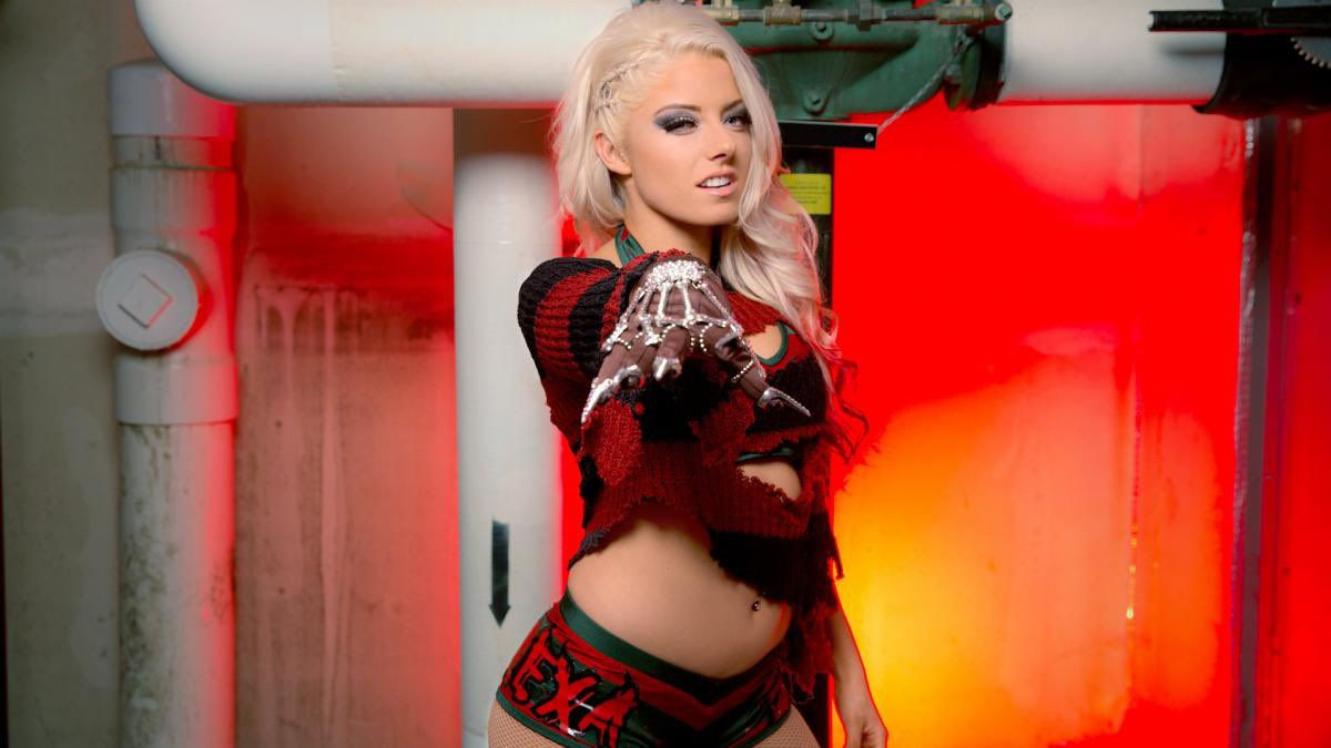 Alexa Bliss debutta a RAW come Freddy Kruger - 2