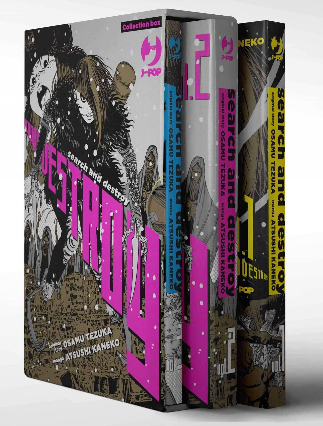 Search and Destroy 1-3, recensione del remake del classico di Tezuka