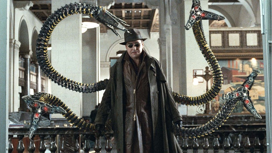 Molina come Octopus in Spider-Man 3